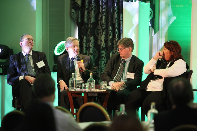 Image of panel discussion at 2015 conference
