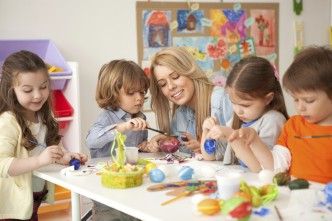 picture of children in nursery