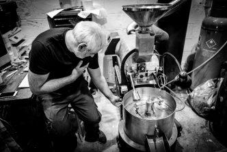 Davide Angeletti of Glasgow's Ovenbird Coffee Roasters Co